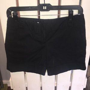 White | Black Brand Black midi short